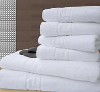 Махровые полотенца с греческой каймой