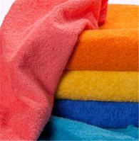 Махровые полотенца цветные